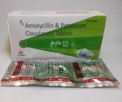 Amoxycillin 200mg And Potassium Clavulanate 125mg Tablets IP