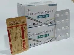 Cinnarizine 25mg Tablet