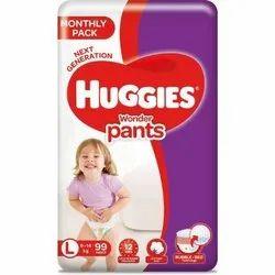 Huggies Wonder pants - L (99 Pieces)