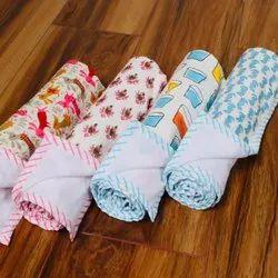 Hand Block Printed Baby Bath Towel Supplier