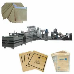 Paper Courier Bag Making Machine