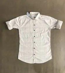 jenifer fabrics Full Sleeve Casual Mens Shirts