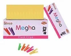 Colored Clothesline Clips - Megha