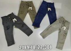mix colour Ladies Denim Jeans, Waist Size: 18*22