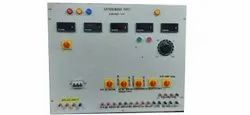 3 HP Wall Mounted Three Phase Motor Control Panel, For Grocery Industry