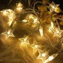 Chinese Crystal Star Clip Light, 10 W