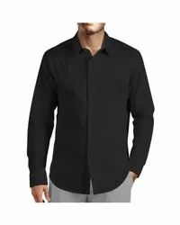 Male Plain Cotton Shirts