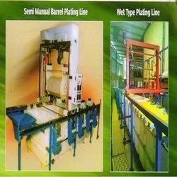 Semi Manual and Wet Type Plating Line