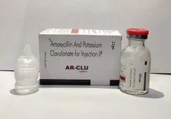 Amoxycillin 1000mg+Potassium Clavulanate 200mg Injection