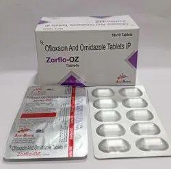 Ofloxacin 200mg & Ornidazole 500mg Tablet