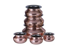 Copper Steel Punjabi Handi
