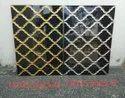 Golden highlighter wall tiles