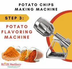 Potato Chips Flavoring Machine
