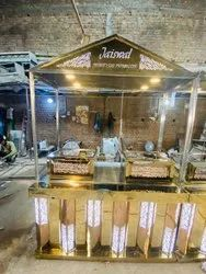 Stainless Steel L.E.D Catering Counter