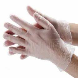 Vinyl Examination Hand Gloves