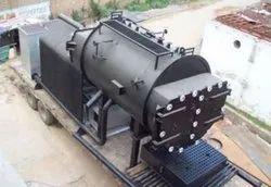 Coal Fired 800 Kg/Hr Industrial Steam Boiler, IBR Approved
