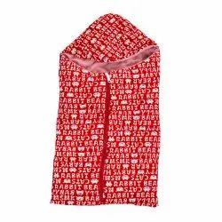 Hooded Baby Blanket Zipper