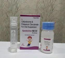 Cefpodoxime 100mg+Clavulanic Acid62.50mg Dry Syrup