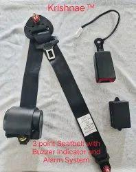 Voice Alarm and Buzzer Indicator Seatbelt System