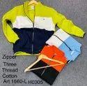 Coller Zipper Mens Sweatshirt