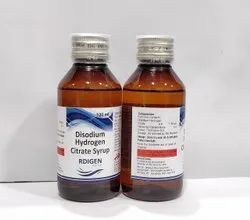 Disodium Hydrogen Citrate 1.38gm Syrup