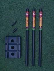Plastic Cricket Wicket Set