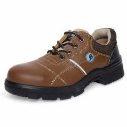 B-Sport Brown Safety Shoes