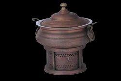 Smokey Finished Ornamental Copper Hyatt Handi