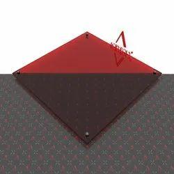 Red Transparent Acrlic Sheet