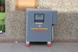 Automatic Mild Steel Air Cooled Three Phase Servo Voltage Stabilizer