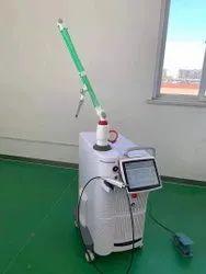 Medical laser treatment for skin