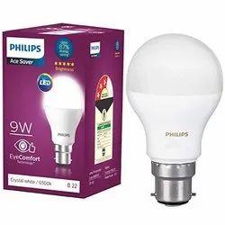 Round Philips 9w B22 Led Bulb