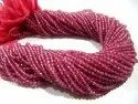 Natural Topaz Rondelle Faceted 2.5 to 4mm Beads Pink Color Gemstone Beads