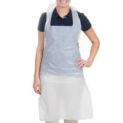 Therapist Apron Large with Piping/Pocket