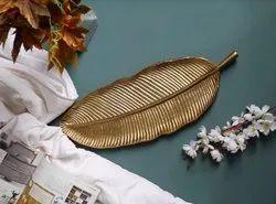 Golden Aluminium Platter