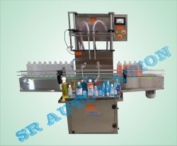 2 Head Sanitizer Filling Machine