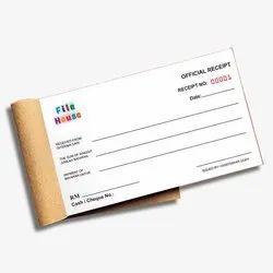 Paper Bill Book Receipt Book Invoice Voucher, For Business