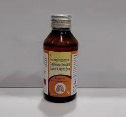 Ambroxyl 15mg,Terbutaline 1.25mg,Guiphenesin 50mg,Menthol 1.5mg Syrup
