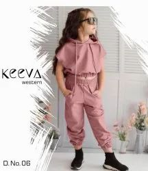 6 Colour Imported Kids Girls Top Pant, Size: 23 To 32