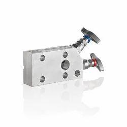 Rosemount 305 Coplanar Style Manifold Two-valve