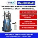 180 Bar Professional Italian Grade Car Washer With Induction Motor