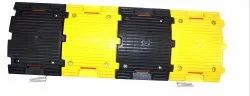 Yellow Rubber Speed Breaker Hump  For Road 32 1000 50 mm