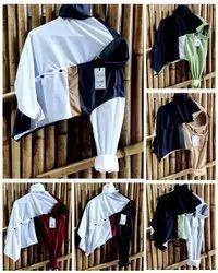 Casual Wear Printed Men Fancy Lycra Shirt, Size: M L XL