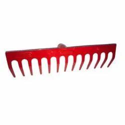 For Gardening 12inch Mild Steel Garden Rake, 500g
