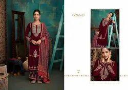 Gramo Velvet Vol 2 Designer Pyor Velvet Salwar Suit Collection