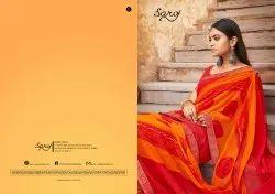 Ladies Printed Bandhani Saree