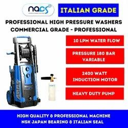Italian Grade Commercial Portable Car & Vehicle Washer With Induction Motor