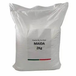 Indian Fortified Maida, 2 kg, Packaging Type: Plastic Bag
