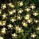 SILICONE WARM WHITE FLOWER LIGHT