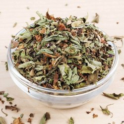 A D Food & Herbs Organic Dried Rama Tulsi Leaves / Ocimum Santum / Holi Basil Leaves